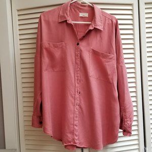 Lou and Grey oversize Tencel blouse - M